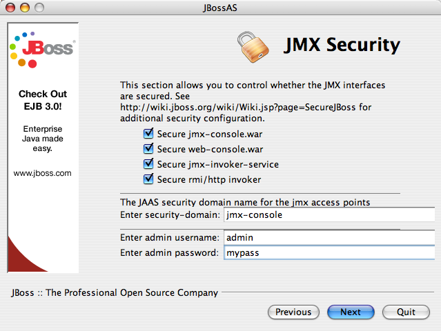 Secure all JMX invokers